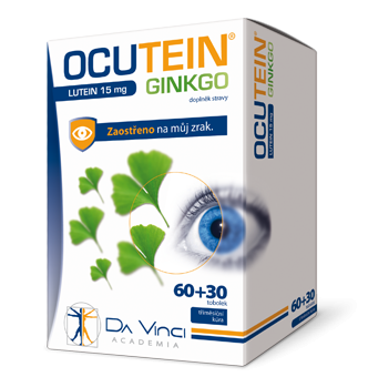 OCUTEIN<small><sup>®</sup></small> GINKGO LUTEIN 15 mg