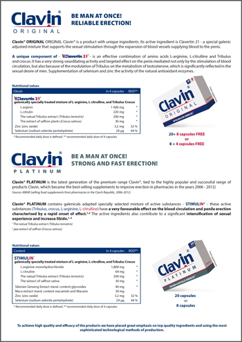 Clavin<small><sup>®</sup></small> PLATINUM