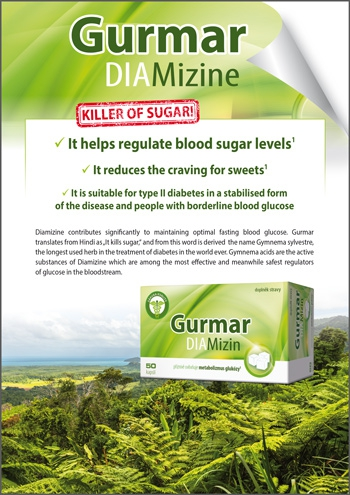 DIAMizin Gurmar 50 capsules