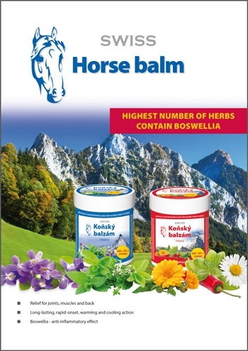 SWISS Horse balm warm