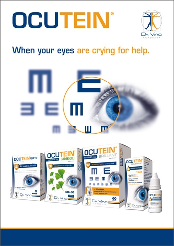 OCUTEIN<small><sup>®</sup></small>BRILLANT LUTEIN 25 mg Da Vinci Academia