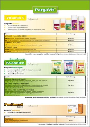 PargaVit<small><sup>®</sup></small> Vitamin C