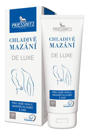 Priessnitz<small><sup>®</sup></small> Chladivé mazání DE LUXE
