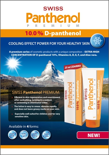 D - Panthenol 10 % Foam