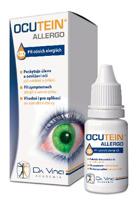 OCUTEIN<small><sup>®</sup></small> ALLERGO zvlhčující oční kapky