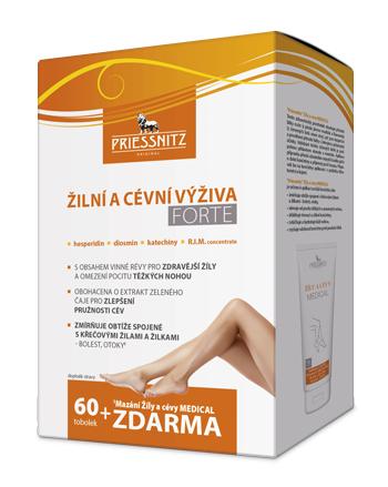 Priessnitz<small><sup>®</sup></small> Žilní a cévní výživa<small><sup>®</sup></small> FORTE