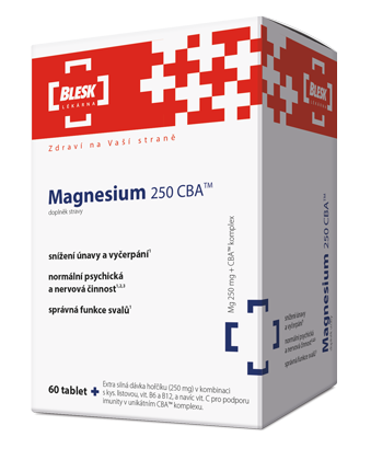 Magnesium 250 CBA<small><sup>TM</sup></small>