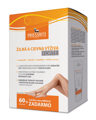 Priessnitz<small><sup>®</sup></small> Žilná a cievna výživa<small><sup>®</sup></small> FORTE