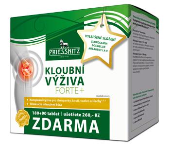 Priessnitz<small><sup>®</sup></small> Kloubní výživa FORTE+ s kolageny
