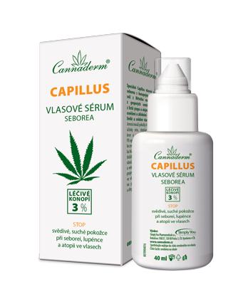 Capillus vlasové sérum seborea