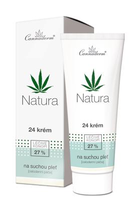 Natura - 24 krém pro suchou a citlivou pleť