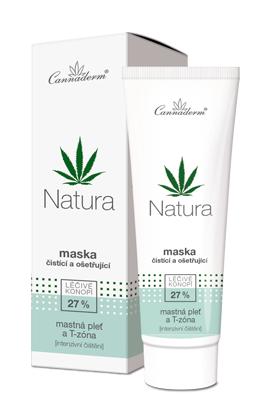 Natura - čistící a ošetřující maska
