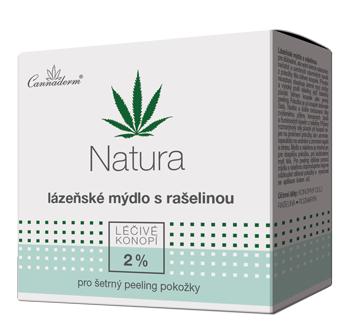 Natura lázeňské mýdlo s rašelinou