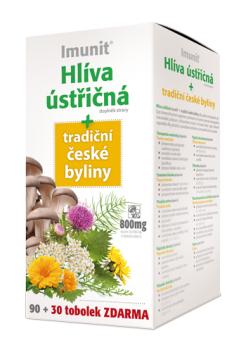 Imunit® Hlíva ústřičná + tradiční české byliny