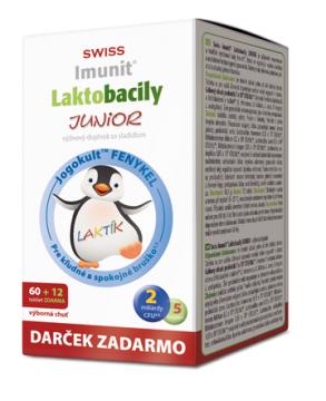Laktobacily JUNIOR Imunit®
