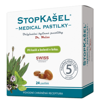 STOPKAŠEL® Medical pastilky Dr. Weiss