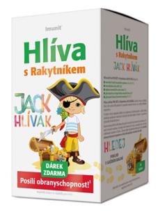 Imunit® Hlíva ústřičná PRO DĚTI s Rakytníkem JACK HLÍVÁK