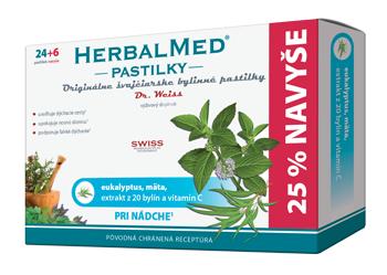 HERBALMED® pastilky Dr.Weiss - eukalyptus amäta