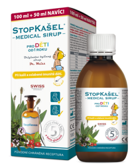 STOPKAŠEL® Medical sirup OD 1 ROKU Dr. Weiss